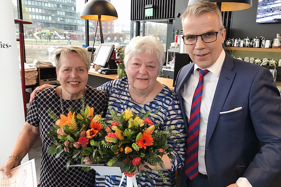 Image of Olli-palkinnot Keijo Leppäselle, Eila Lyytikäiselle ja Raili Kettuselle